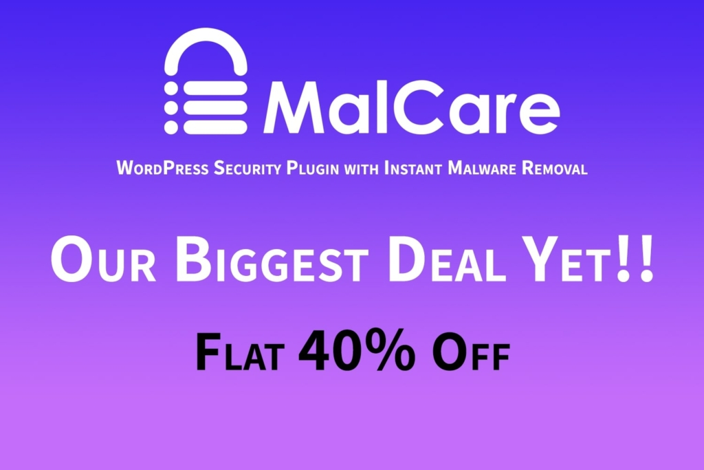 MalCare — The Best Upcoming WordPress Security Plugin