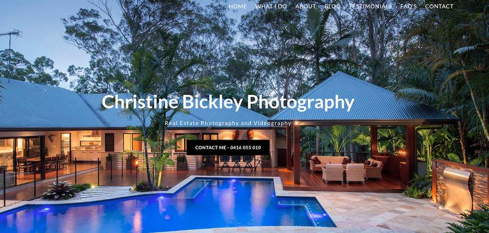 Hopefully, your photography website boasts an engaging aesthetic and effectively showcases your experience.  As a photographer, you likely have an eye for design and beautiful photographs to fill your portfolio: