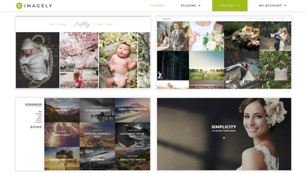 You can choose one that meets the specific needs of your site. A photography theme can help enhance your website's design by making sure your content is prominently displayed and appropriately organized.