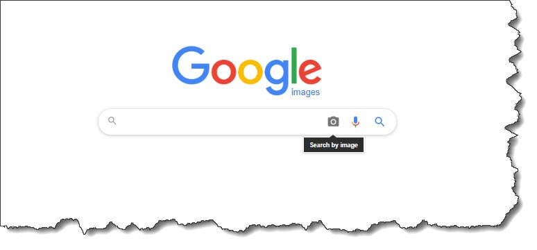 Go to Google Image search and click the camera icon to use the search by image feature.
