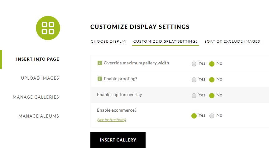 Pro Tile custom Settings
