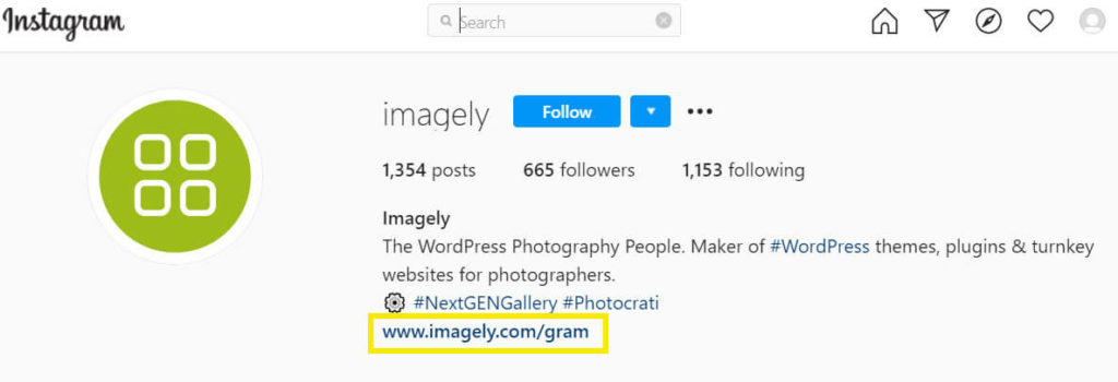 One method you can use is placing a link to your website in your bio. This is particularly important on sites like Instagram, where you can't add links to individual posts: