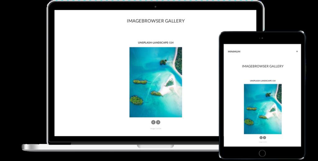ImageBrowser Gallery Demo