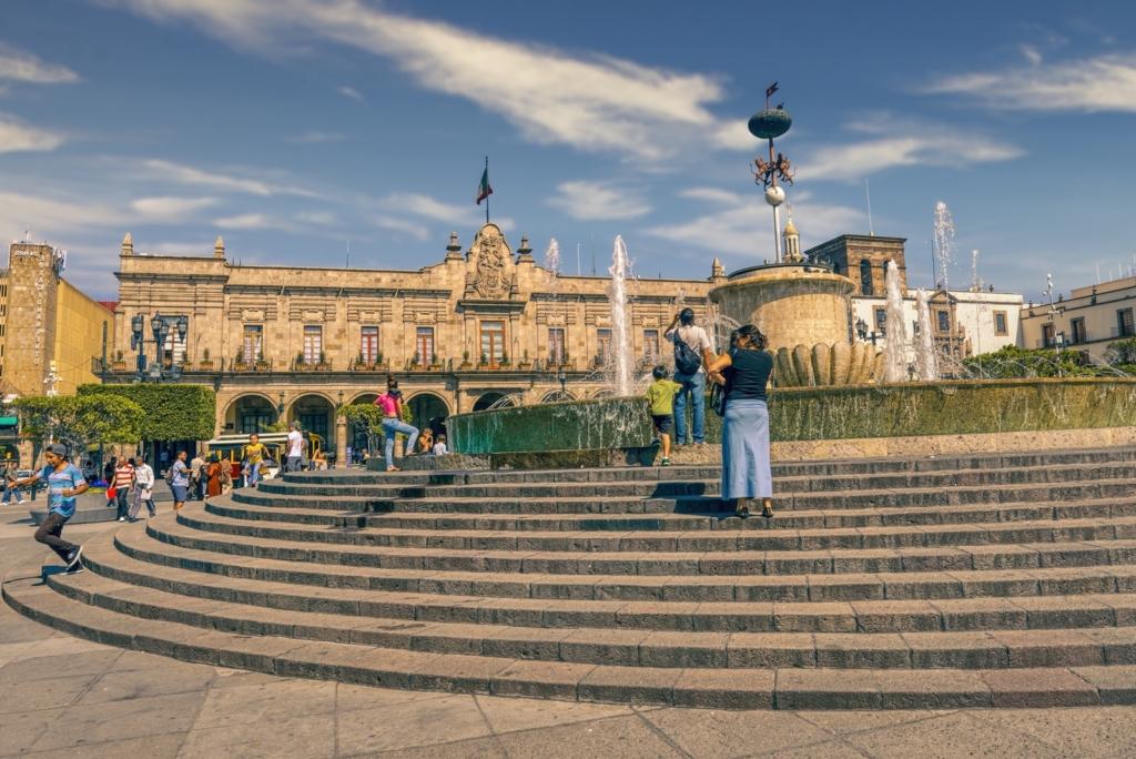 Municpal square of Guadalajara